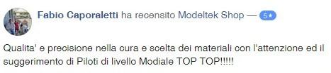 modeltek udine recensione facebook