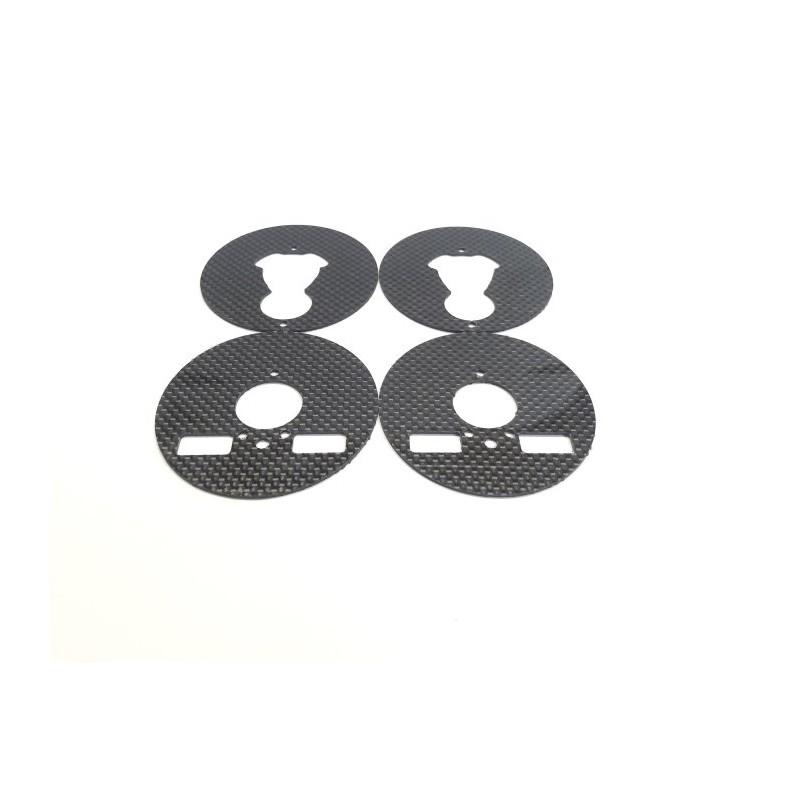 graphite aerodynamic disc set